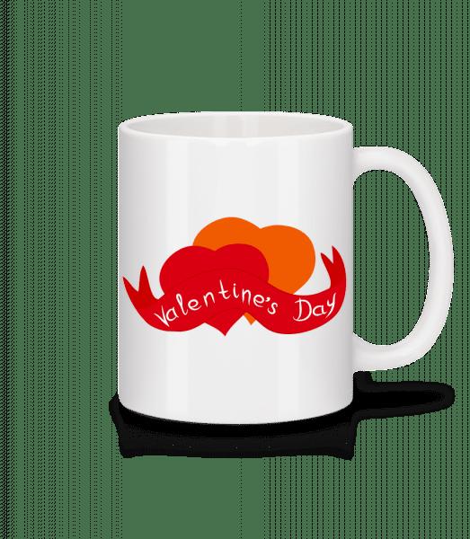 Valentine's Day Logo - Mug - White - Vorn