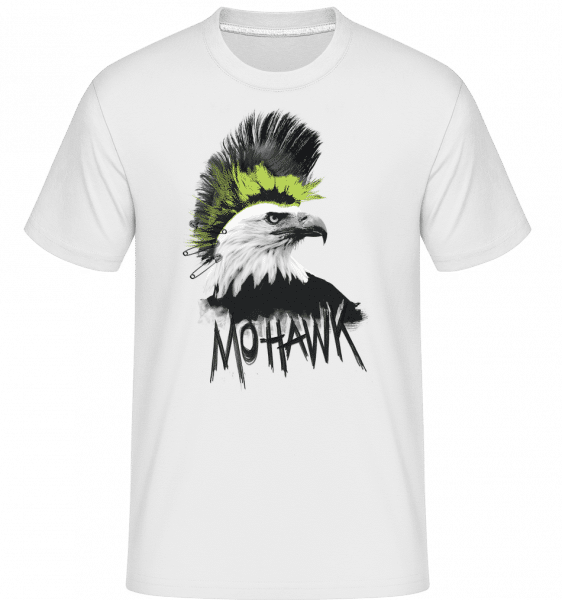 Mohawk -  Shirtinator Men's T-Shirt - White - Vorn