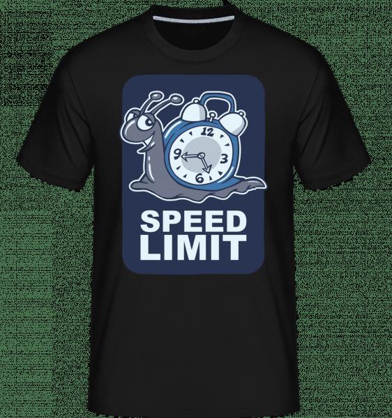 Speed Limit -  Shirtinator Men's T-Shirt - Black - Vorn