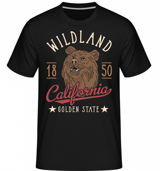 Wildland California -  Shirtinator Men's T-Shirt - Black - Vorn