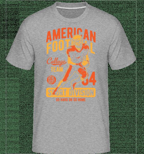 College Team -  Shirtinator Men's T-Shirt - Heather grey - Vorn