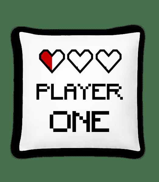 Player One - Polštář - Bílá - Napřed