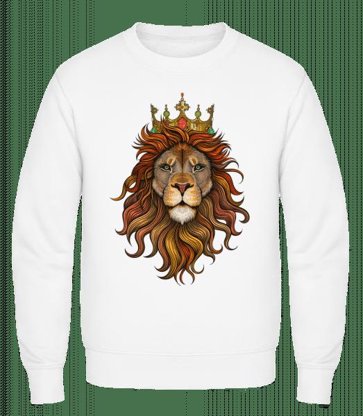 Lion King - Classic Set-In Sweatshirt - White - Vorn
