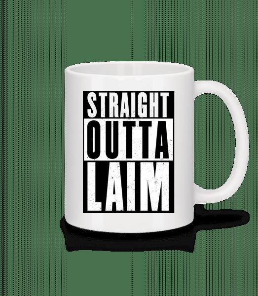 Straight Outta Laim - Tasse - Weiß - Vorn