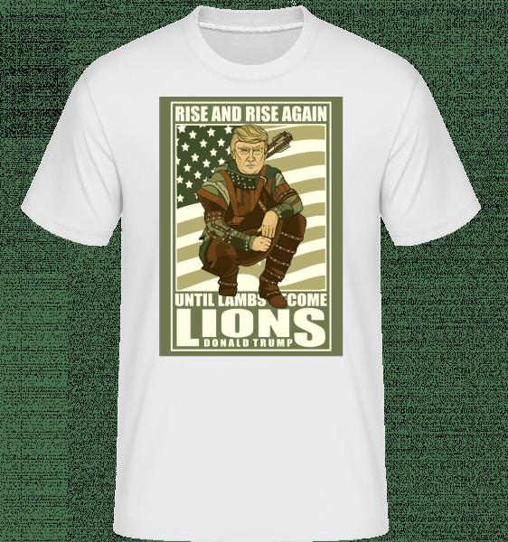Robin Hood Trump -  Shirtinator Men's T-Shirt - White - Vorn
