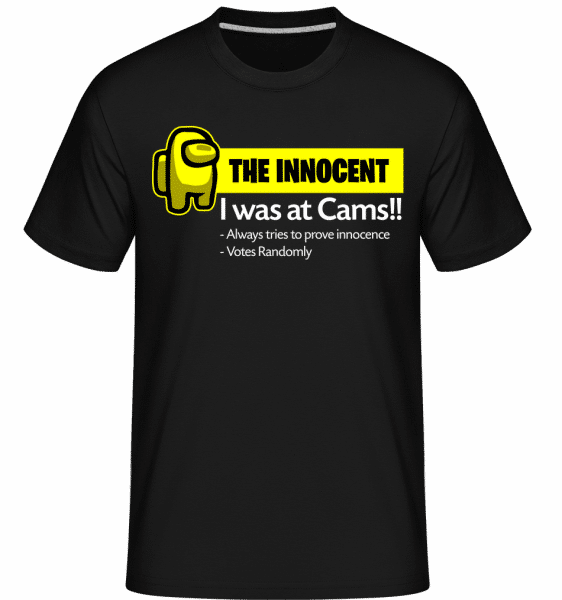 Yellow The Innocent Among Us -  Shirtinator Men's T-Shirt - Black - Vorn