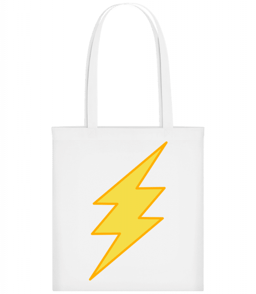 Flash Icon - Carrier Bag - White - Vorn