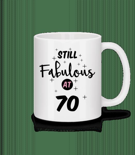 Still Fabulous At 70 - Mug - White - Vorn