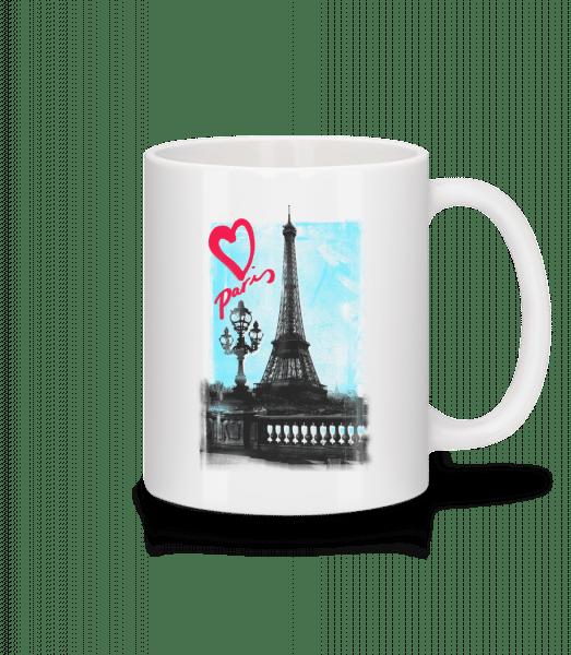Paris love - Mug - White - Vorn