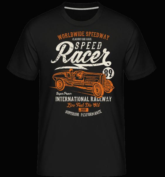 Speed Racer -  Shirtinator Men's T-Shirt - Black - Vorn