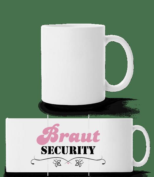 Braut Security - Panoramatasse - Weiß - Vorn