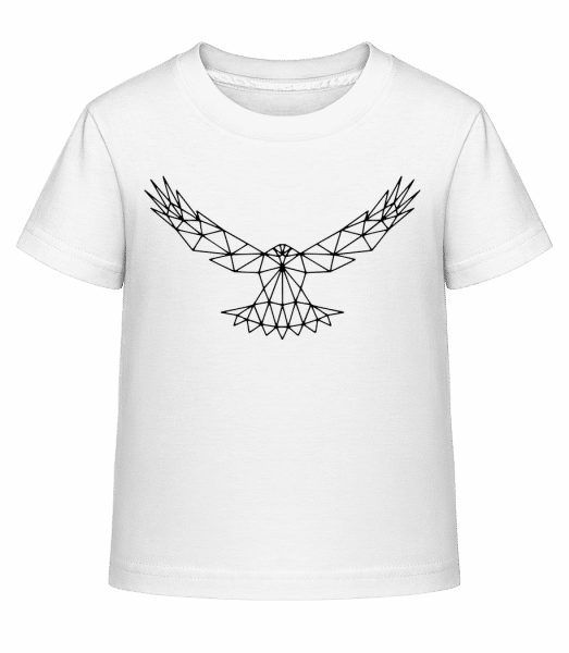 Polygon Eagle - Kid's Shirtinator T-Shirt - White - Vorn