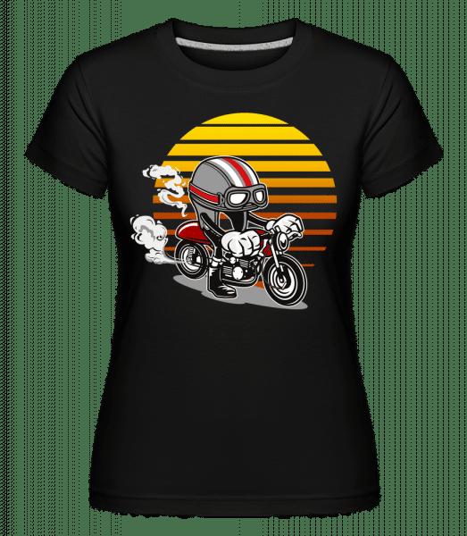 Caferacer Helmet -  Shirtinator Women's T-Shirt - Black - Vorn