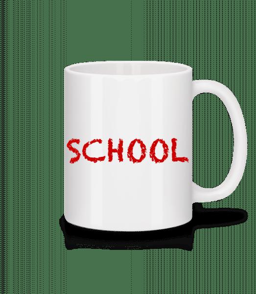 School - Mug - White - Vorn
