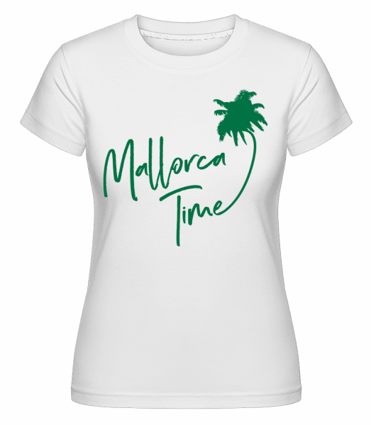 Mallorca Time -  Shirtinator Women's T-Shirt - White - Vorn