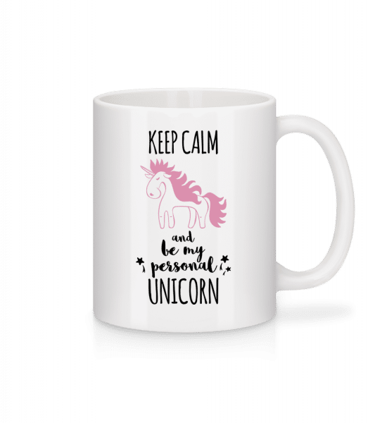 Be My Personal Unicorn - Mug - White - Front