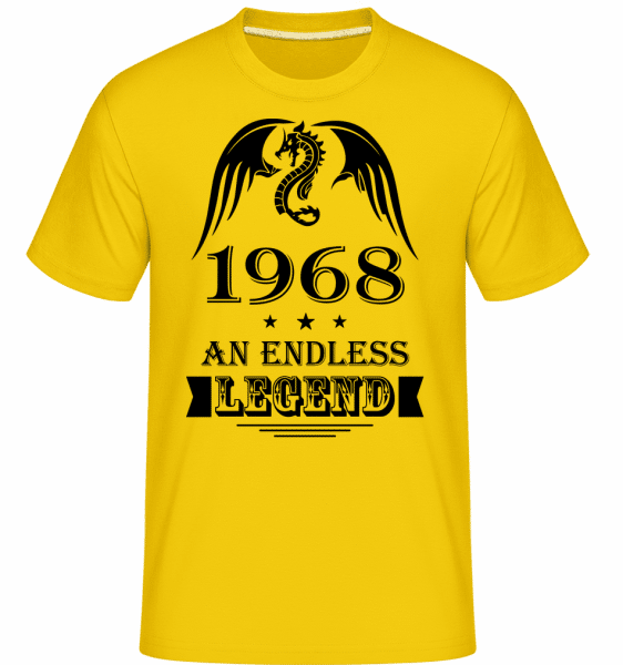 Endless Legend 1968 -  Shirtinator Men's T-Shirt - Golden yellow - Vorn