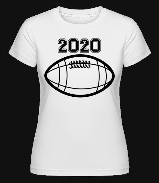 Football 2020 -  Shirtinator Women's T-Shirt - White - Front