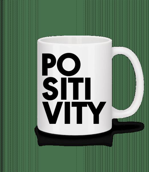 Positivity - Mug - White - Front