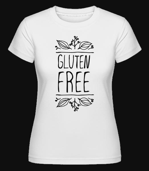 Gluten Free -  Shirtinator Women's T-Shirt - White - Front