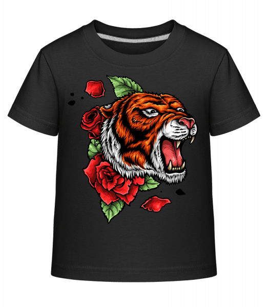 Tiger Fury - Kid's Shirtinator T-Shirt - Black - Vorn