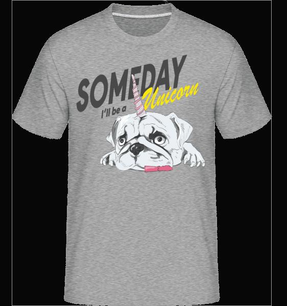 Someday I'll Be A Unicorn -  Shirtinator Men's T-Shirt - Heather grey - Vorn