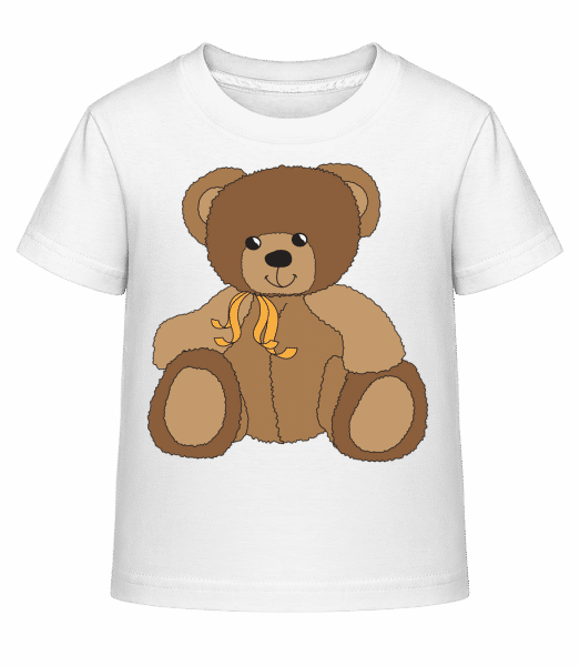 Baby Comic - Bear - Kid's Shirtinator T-Shirt - White - Vorn