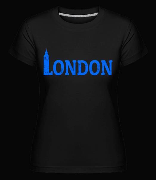 London UK -  Shirtinator Women's T-Shirt - Black - Vorn