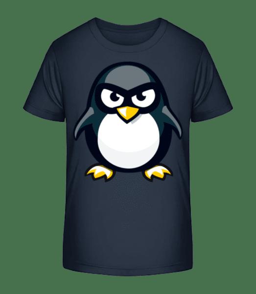 Penguin Kids - Kid's Premium Bio T-Shirt - Navy - Vorn