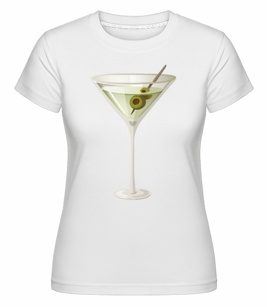 Cocktail -  Shirtinator Women's T-Shirt - White - Vorn