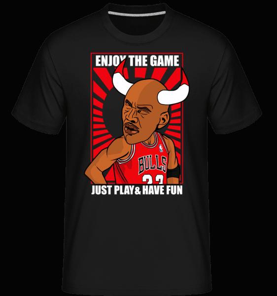 Michael Jordan -  Shirtinator Men's T-Shirt - Black - Vorn
