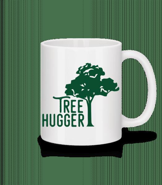 Tree Hugger - Mug - White - Vorn