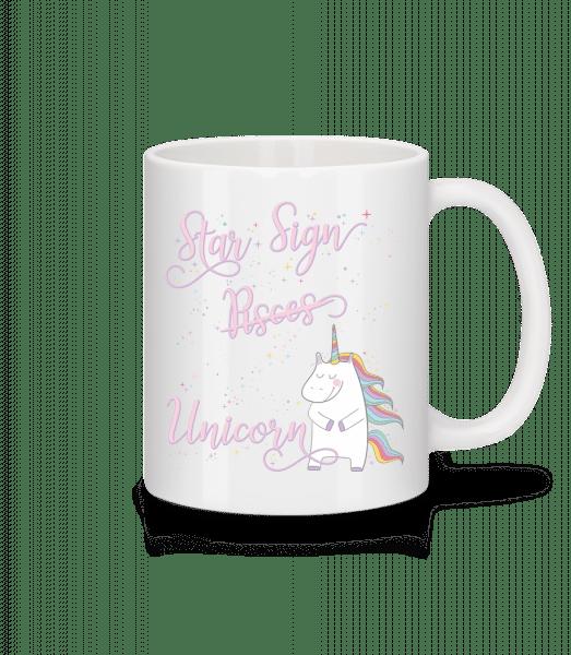 Star Sign Unicorn Pisces - Mug - White - Vorn