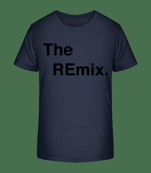 The REmix - Kid's Premium Bio T-Shirt - Navy - Vorn