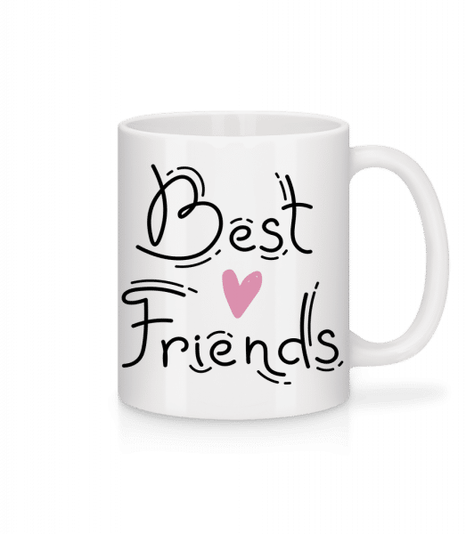 Best Friends - Tasse - Weiß - Vorn