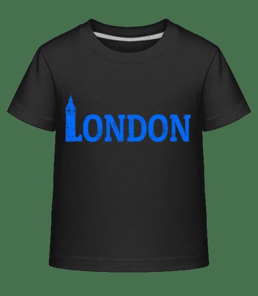 London UK - Kid's Shirtinator T-Shirt - Black - Vorn