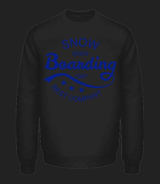 Snowboarding Since 1997 Logo - Unisex Sweatshirt - Black - Vorn
