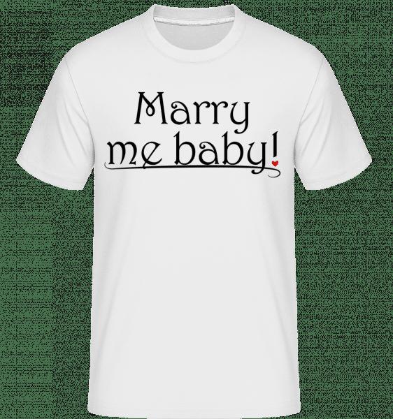 Vezmi si ma baby! -  Shirtinator tričko pre pánov - Biela - Predné