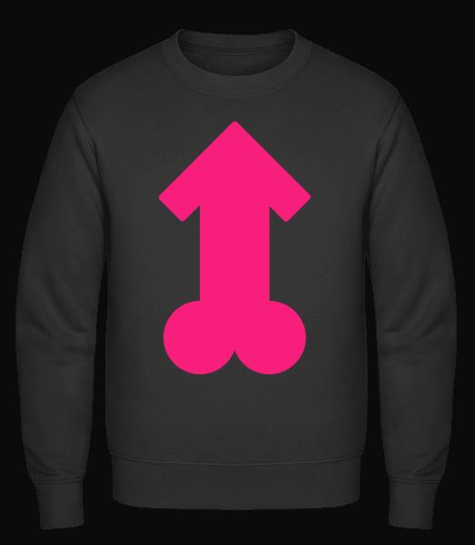 Pink Penis - Classic Set-In Sweatshirt - Black - Vorn