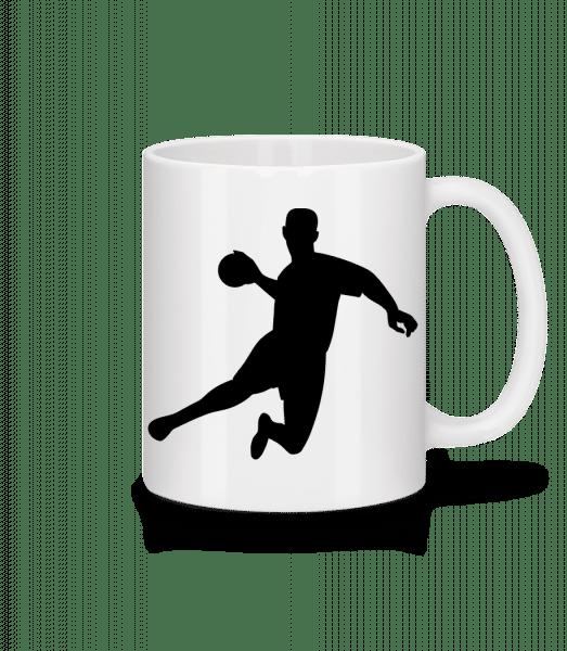 Handball - Tasse - Weiß - Vorn