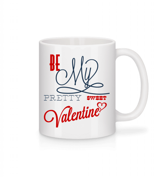 Be My Valentine - Mug - White - Vorn