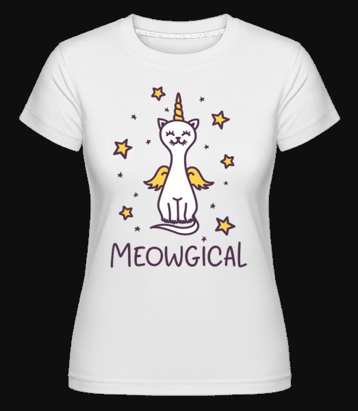 Meowgical -  T-shirt Shirtinator femme - Blanc - Vorn