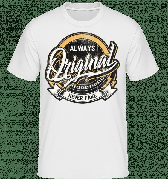 Always Original -  Shirtinator Men's T-Shirt - White - Vorn