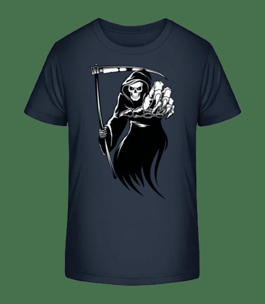 La Mort - T-shirt bio Premium Enfant - Bleu marine - Vorn