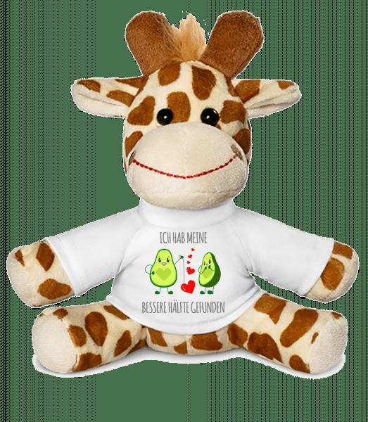 Avocado Love - Giraffe - Weiß - Vorn