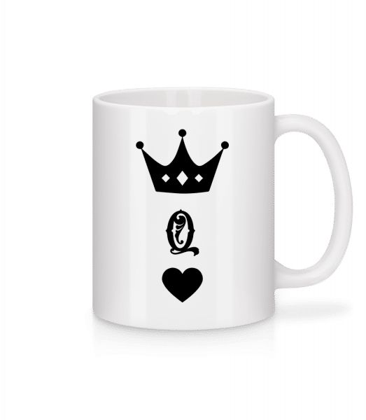 Queen Crown - Mug - White - Vorn