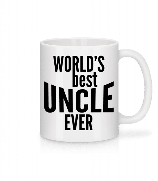 World's Best Uncle Ever - Mug - White - Vorn