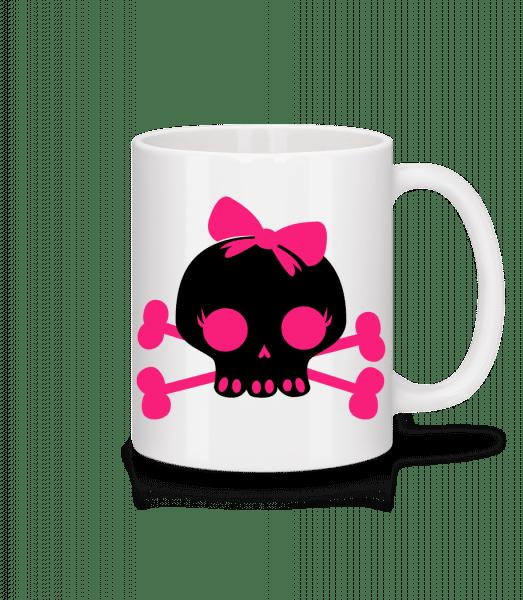 Emo Skull Pink - Mug - White - Vorn