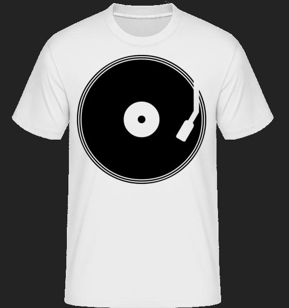 Enregistrement DJ -  T-Shirt Shirtinator homme - Blanc - Vorn
