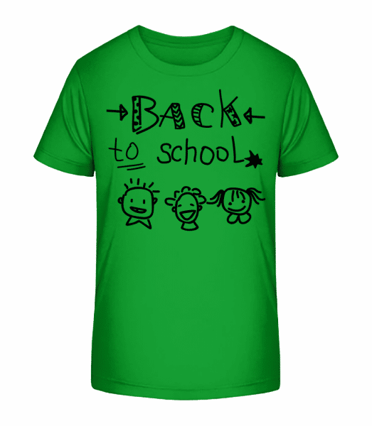 Back To School - T-shirt bio Premium Enfant - Vert - Vorn
